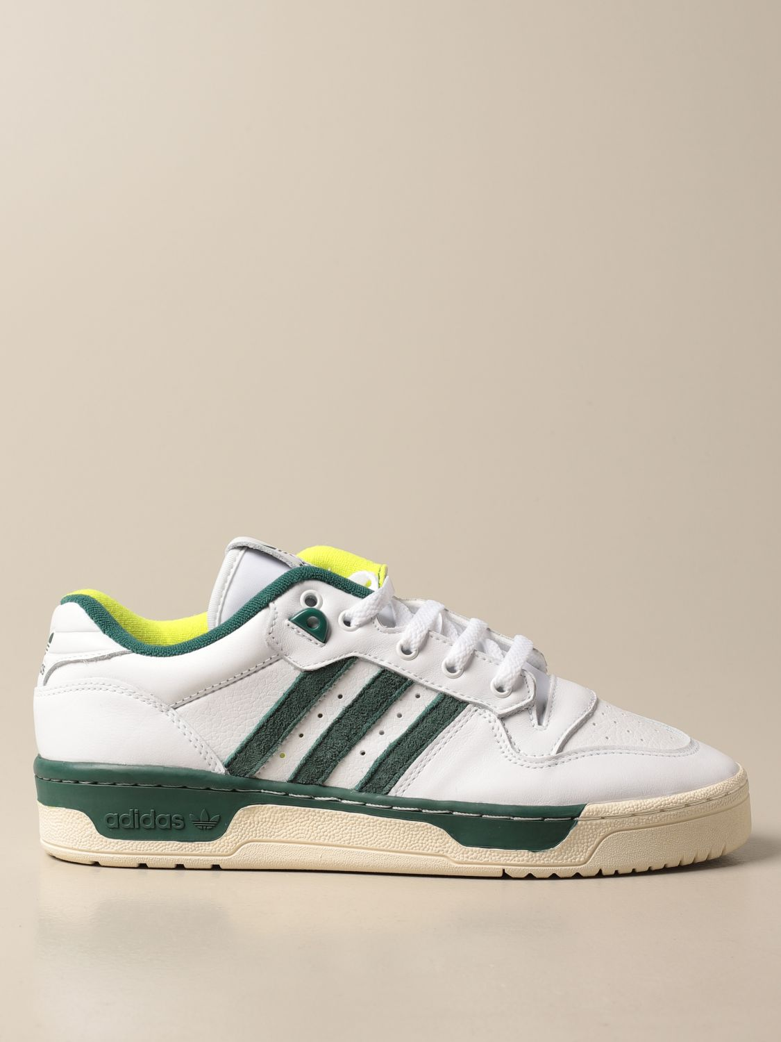 Trainers Adidas Originals: Rivalry Adidas Originals leather sneakers white 1