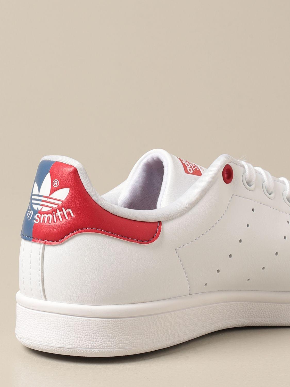 Sneakers Adidas Originals: Sneakers Stan Smith Adidas Originals in pelle sintetica bianco 3