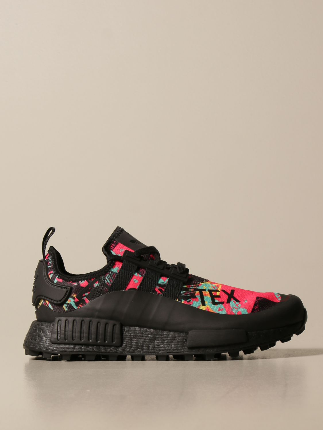 Trainers Adidas Originals: Adidas Originals sneakers in printed technical fabric and rubber black 1