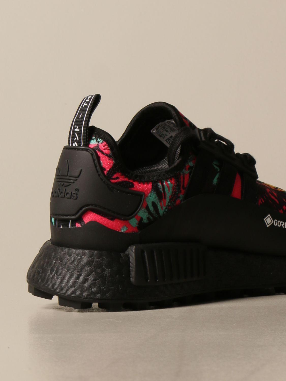 Sneakers Adidas Originals: Adidas Originals sneakers in printed technical fabric and rubber black 3