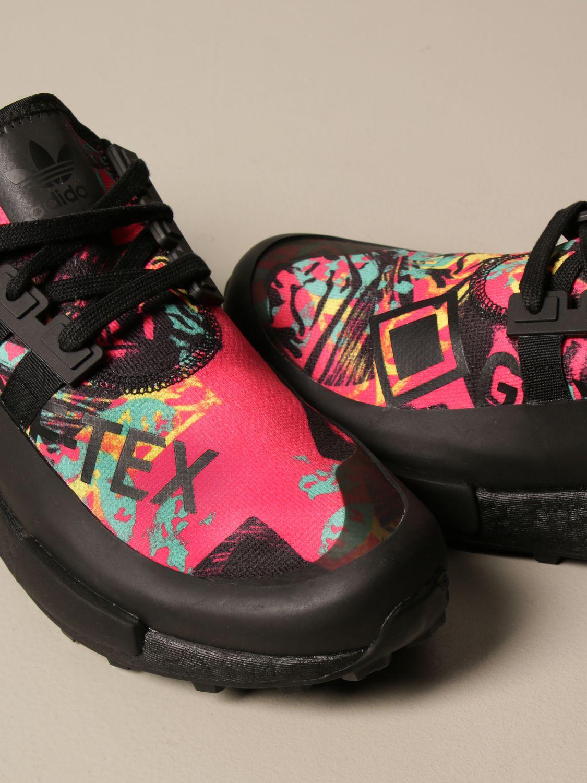 Sneakers Adidas Originals: Adidas Originals sneakers in printed technical fabric and rubber black 4