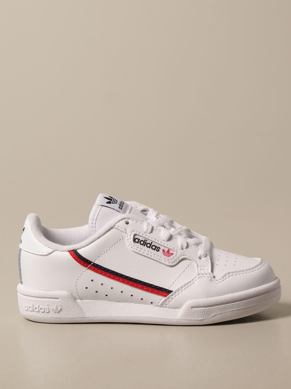Zapatos Adidas Originals: Zapatos niños Adidas Originals blanco 1
