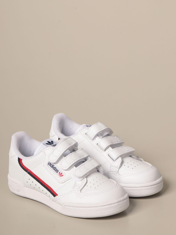 Scarpe Adidas Originals: Sneakers Continental 80 cf Adidas Originals in pelle bianco 2