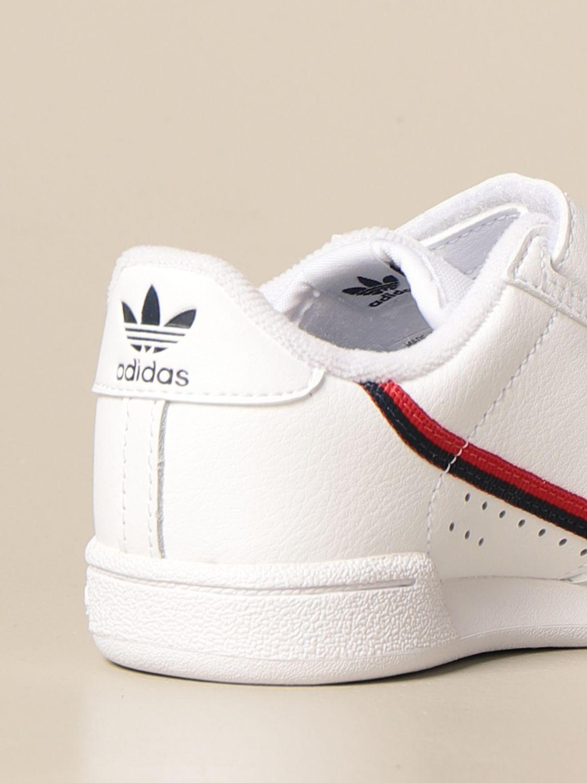 Scarpe Adidas Originals: Sneakers Continental 80 cf Adidas Originals in pelle bianco 3
