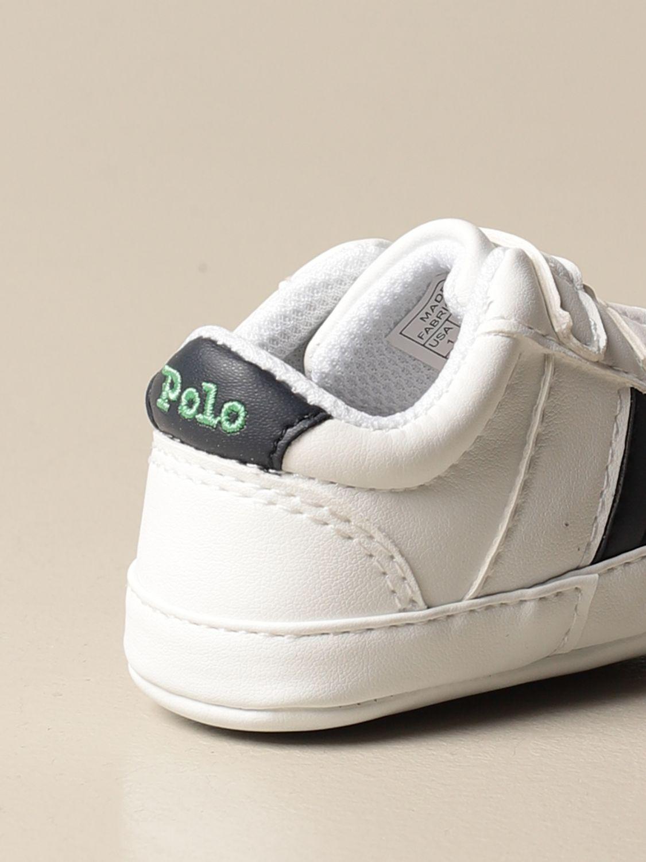 Zapatos Polo Ralph Lauren: Zapatos niños Polo Ralph Lauren blanco 3