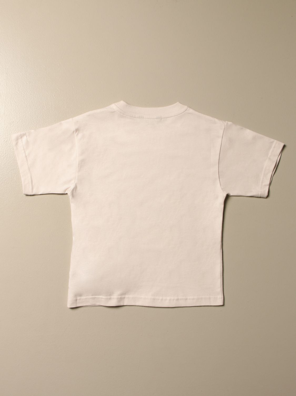 Camiseta Balenciaga: Camiseta niños Balenciaga blanco 2