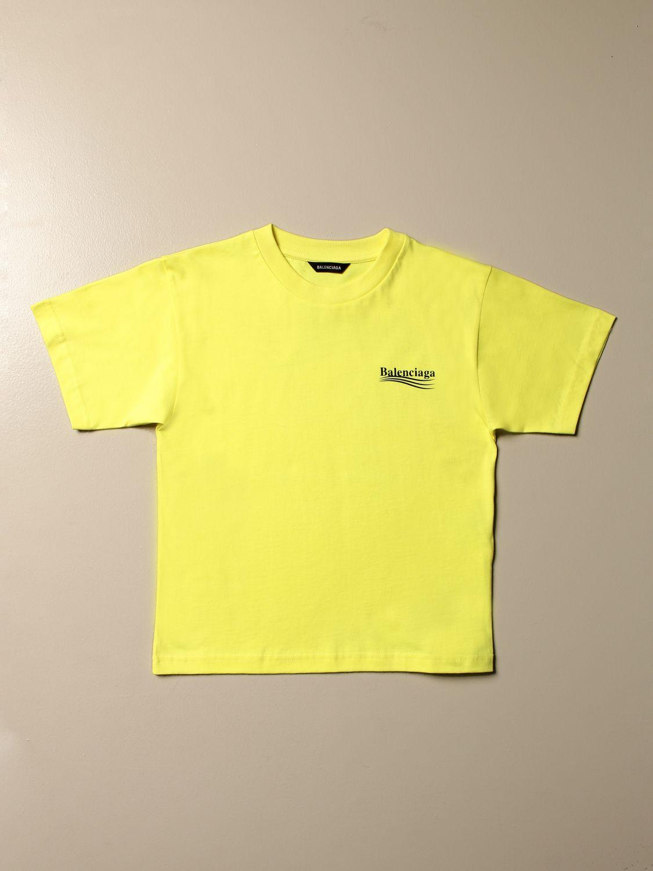 Camiseta Balenciaga: Camiseta niños Balenciaga verde 1