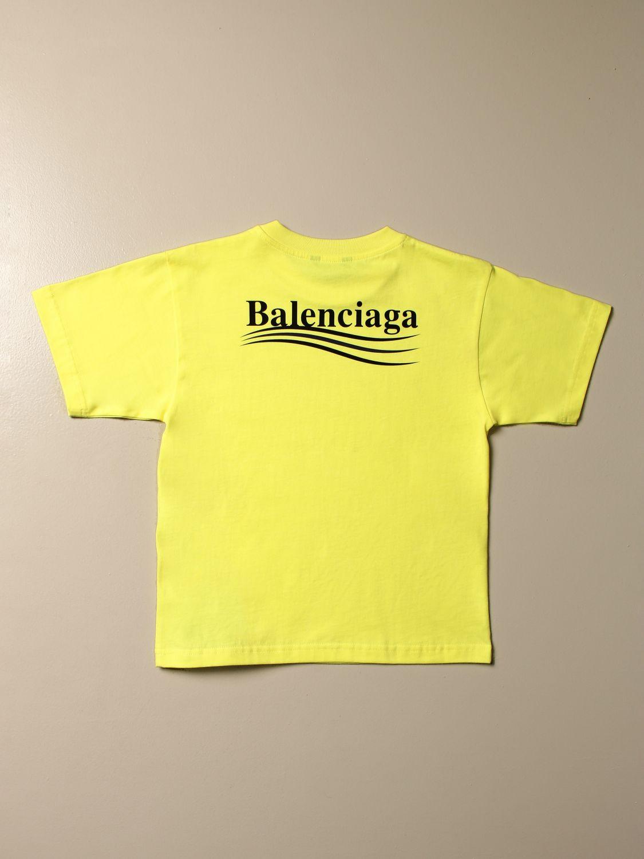 Camiseta Balenciaga: Camiseta niños Balenciaga verde 2