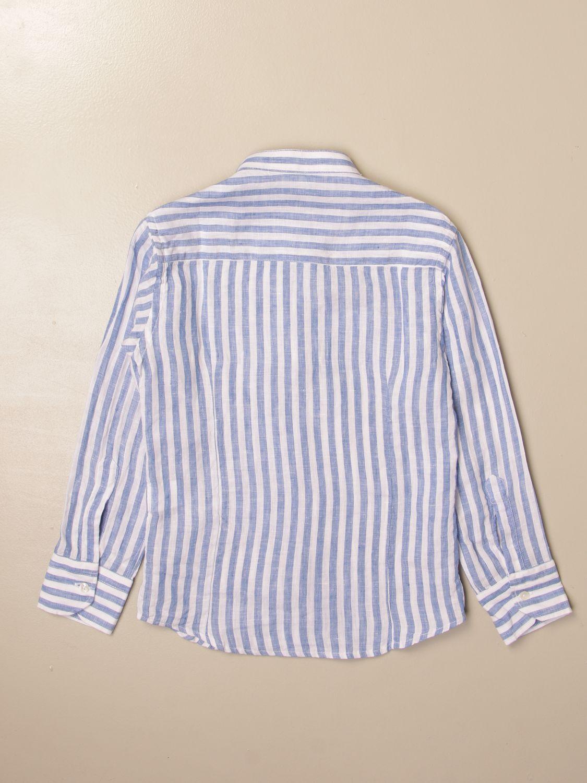 Chemise Baronio: Chemise enfant Baronio bleu 2