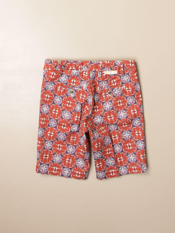Pantalón corto Baronio: Pantalón corto niños Baronio color óxido 2