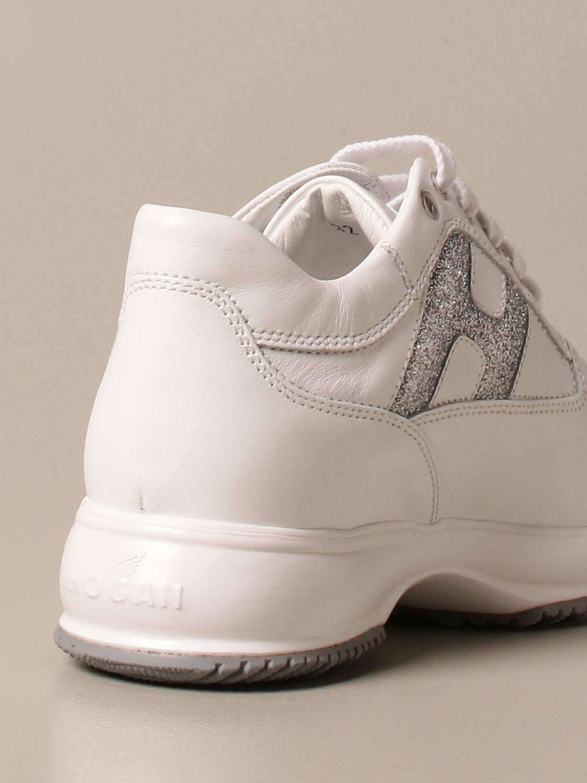 Zapatos Hogan: Zapatos niños Hogan blanco 3