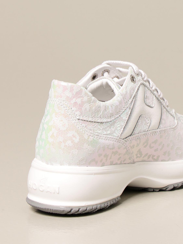 Zapatos Hogan: Zapatos niños Hogan plata 3