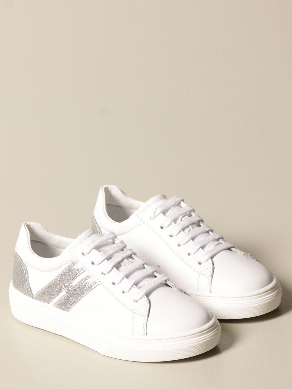 Zapatos Hogan: Zapatos niños Hogan blanco 2