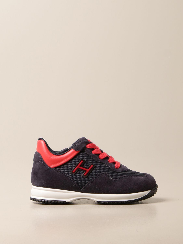 Sneakers Interactive Hogan con H flock