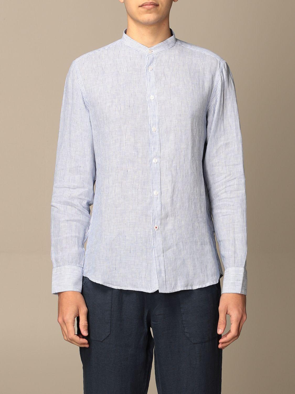 Shirt Baronio: Shirt men Baronio blue 1