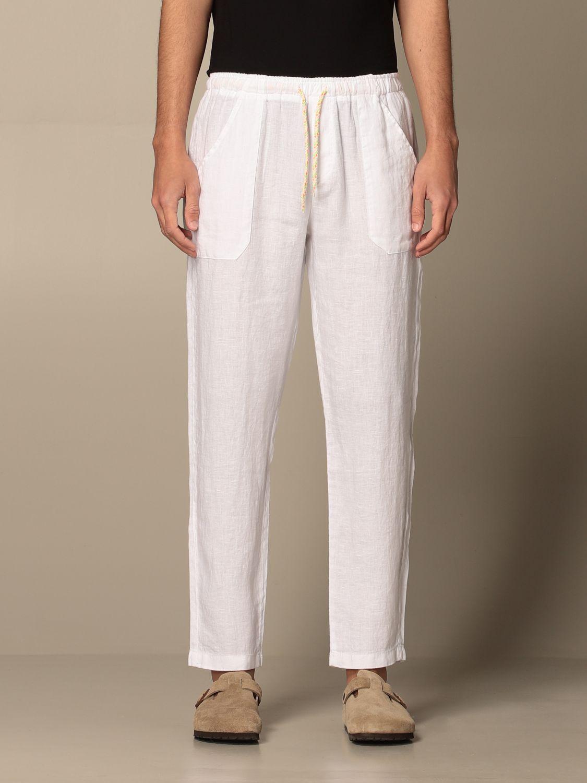 Trousers Baronio: Trousers men Baronio white 1