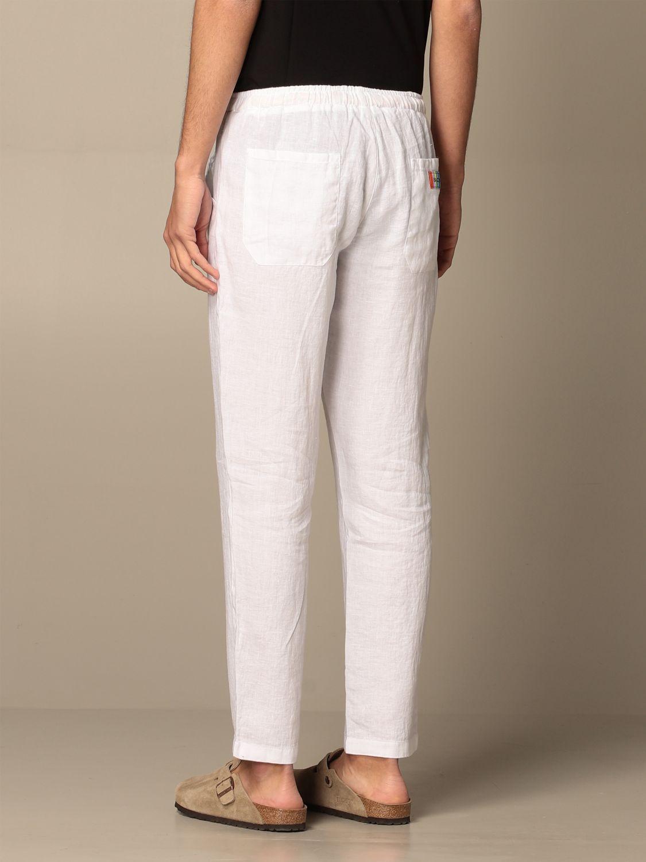Trousers Baronio: Trousers men Baronio white 2