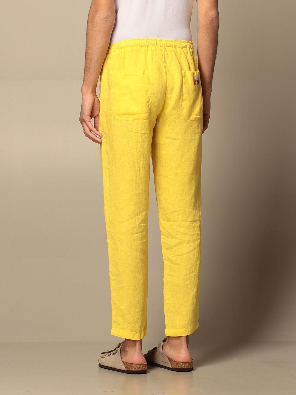 Pants Baronio: Pants men Baronio yellow 2