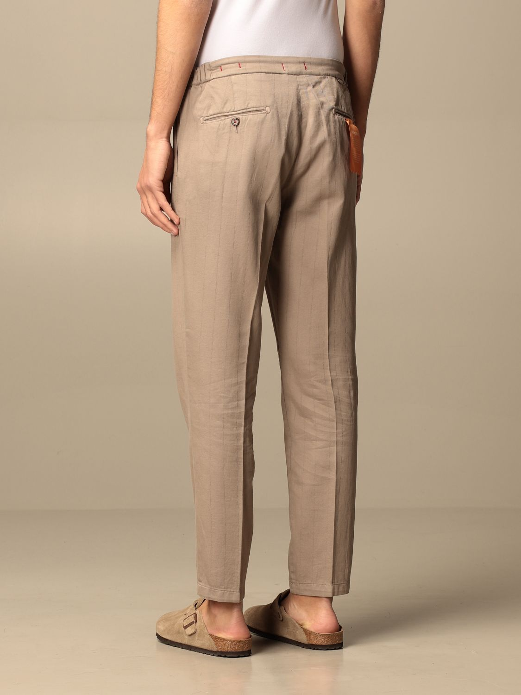 Trousers Baronio: Trousers men Baronio beige 2