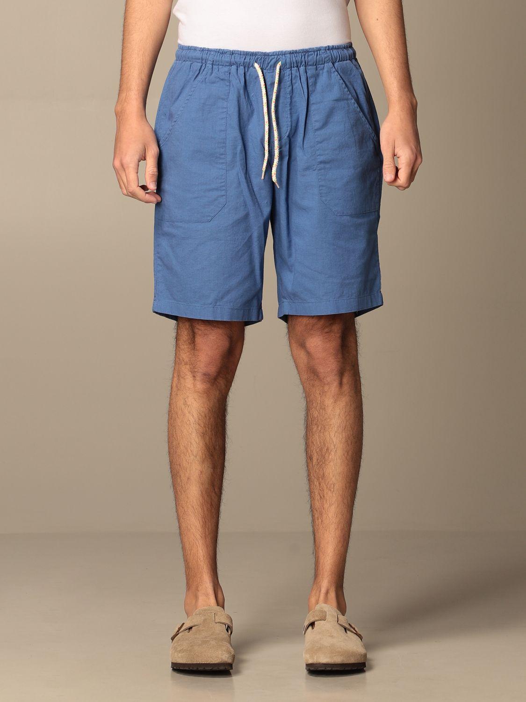 Short Baronio: Short men Baronio royal blue 1
