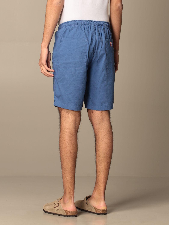 Short Baronio: Short men Baronio royal blue 2