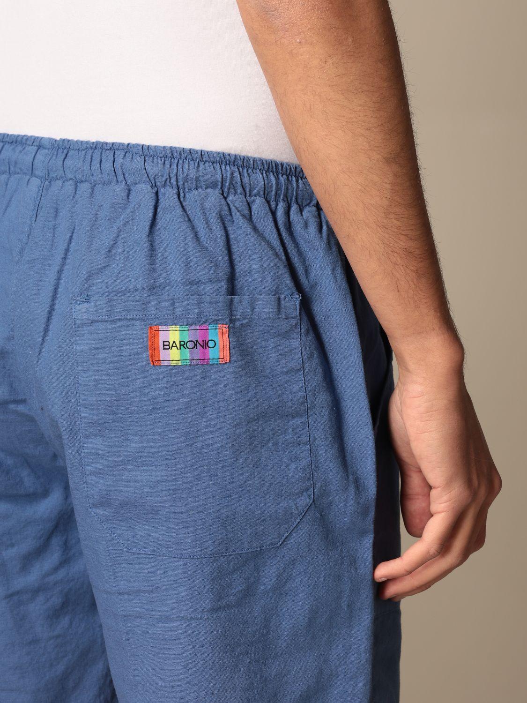 Short Baronio: Short men Baronio royal blue 4
