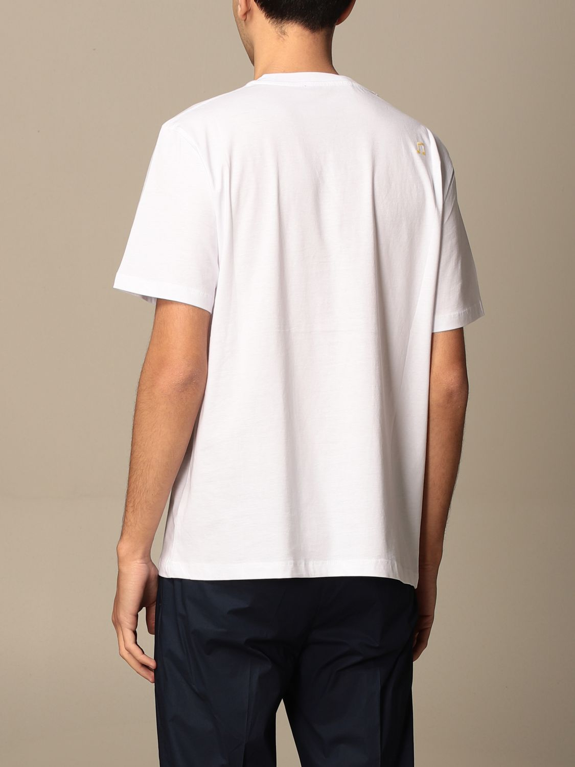 T-shirt Department 5: T-shirt Department Five in cotone con stampa Rajasthan bianco 2