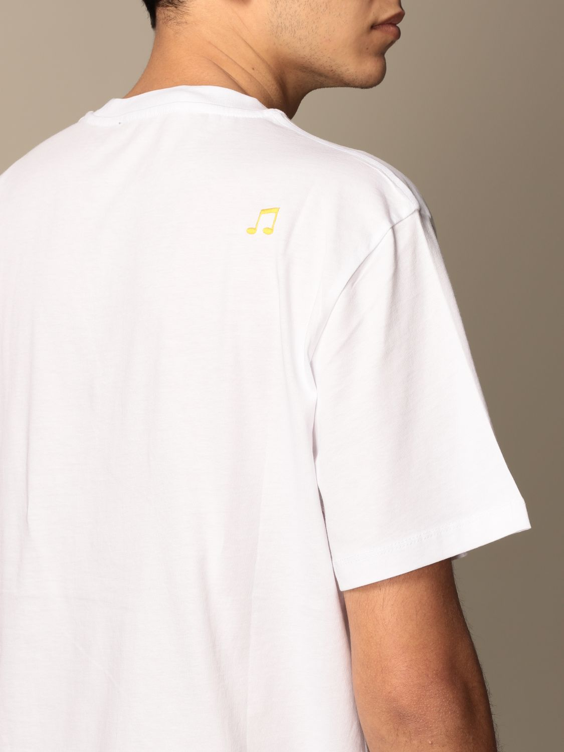 T-shirt Department 5: T-shirt Department Five in cotone con stampa Rajasthan bianco 3