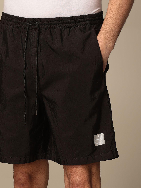 Pantaloncino Department 5: Pantaloncino jogging Department Five nero 4