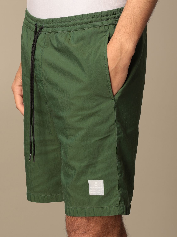 Pantaloncino Department 5: Pantaloncino jogging Department Five militare 4