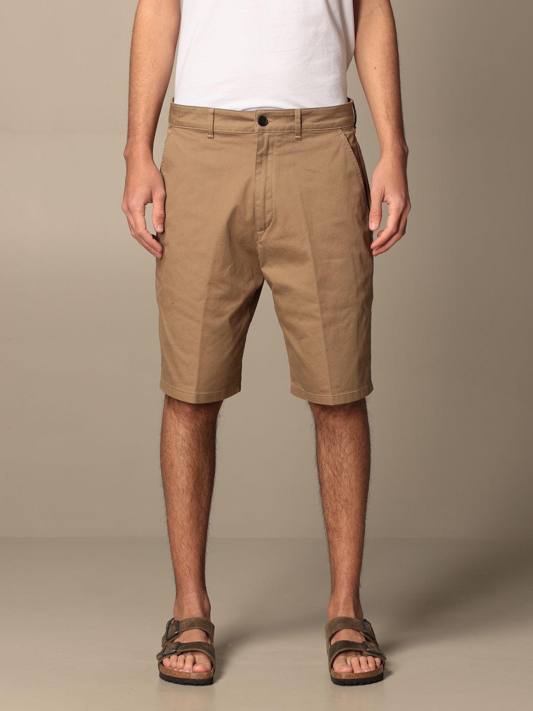 Pantaloncino Department 5: Bermuda Department Five in gabardine beige 1