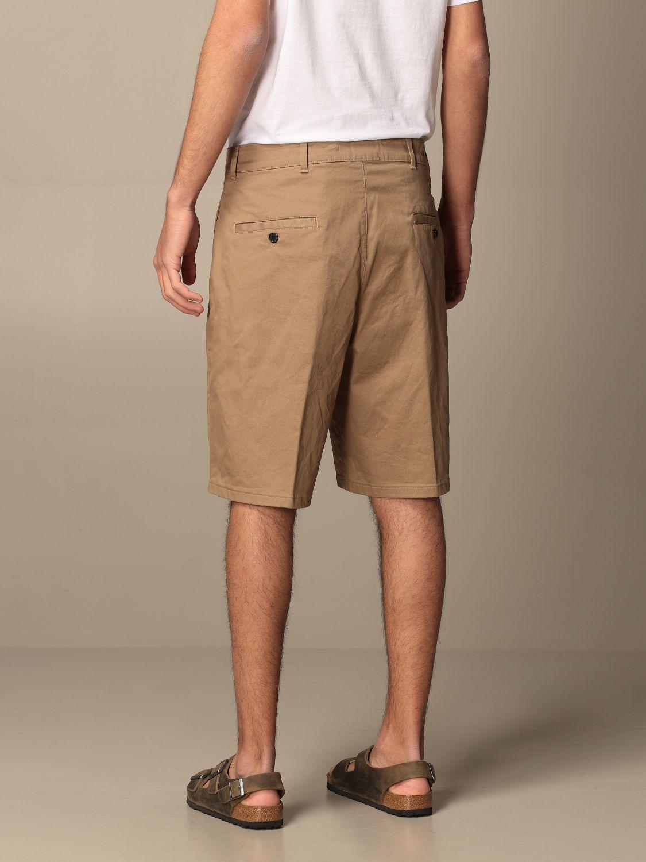 Pantaloncino Department 5: Bermuda Department Five in gabardine beige 3