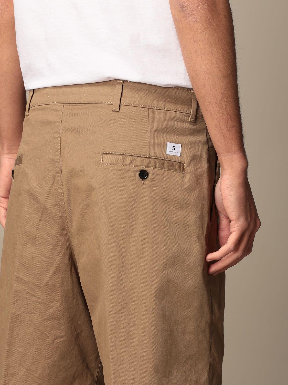 Pantaloncino Department 5: Bermuda Department Five in gabardine beige 4