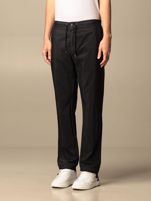Pantalone Department 5: Pantalone jogging Department Five in cotone blue 3