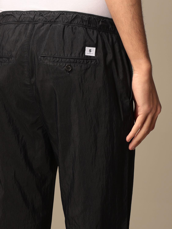 Pantalone Department 5: Pantalone jogging Department Five in cotone blue 4