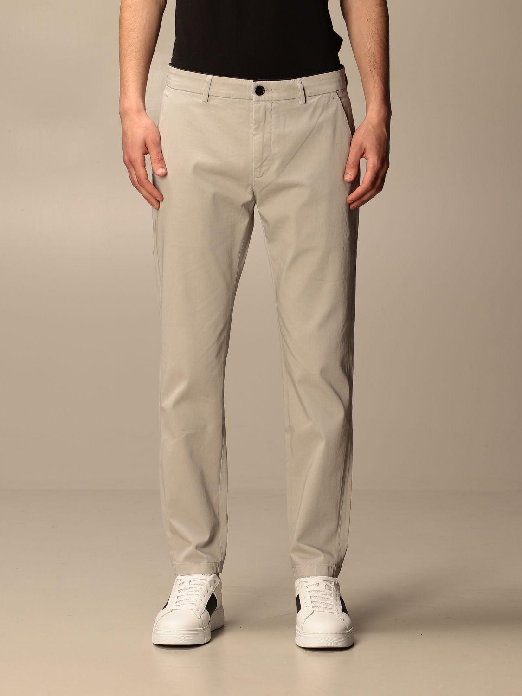 Pantalone Department 5: Pantalone Department Five in gabardine tinto capo mastice 1