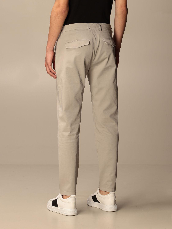 Pantalone Department 5: Pantalone Department Five in gabardine tinto capo mastice 2