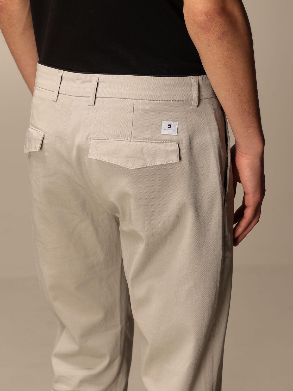 Pantalone Department 5: Pantalone Department Five in gabardine tinto capo mastice 4