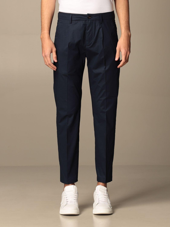 Pantalone Department 5: Pantalone Department Five con tasche america nero 1