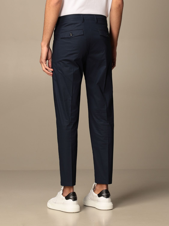 Pantalone Department 5: Pantalone Department Five con tasche america nero 2