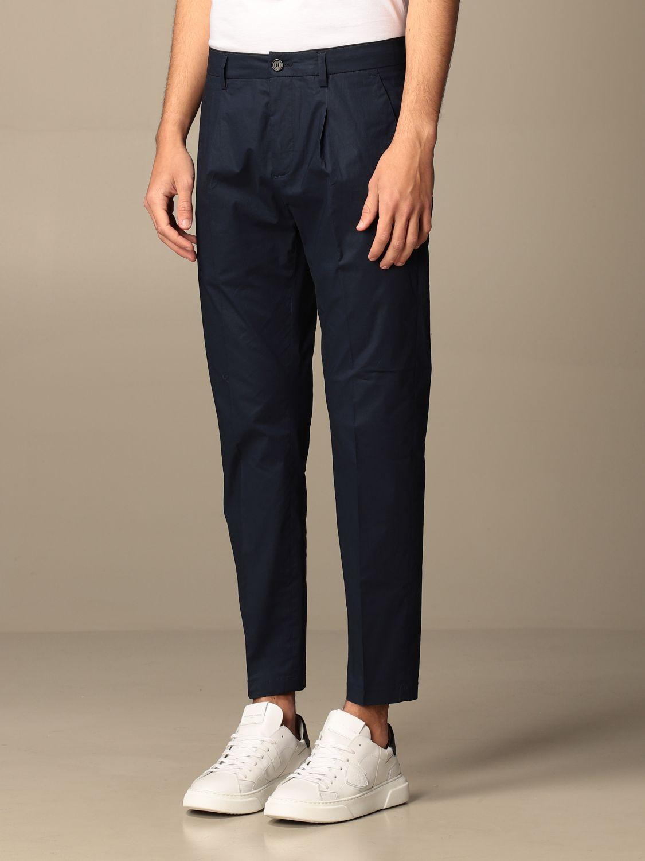 Pantalone Department 5: Pantalone Department Five con tasche america nero 3