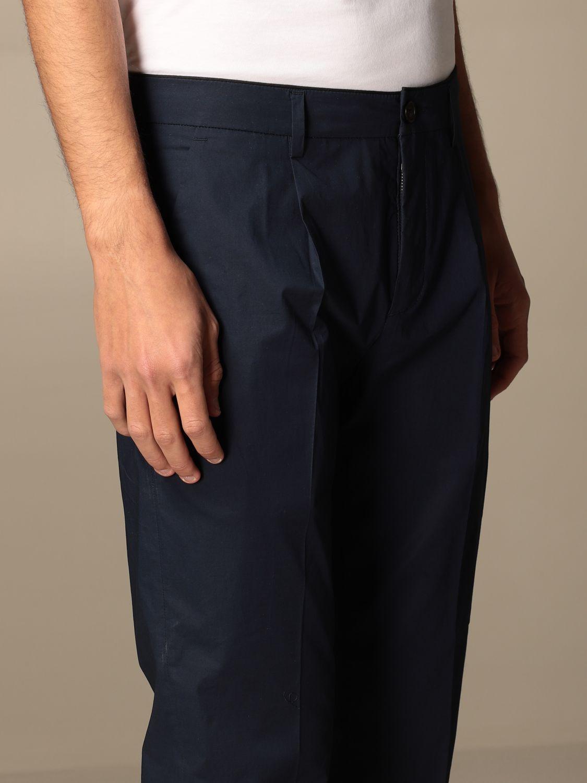 Pantalone Department 5: Pantalone Department Five con tasche america nero 4