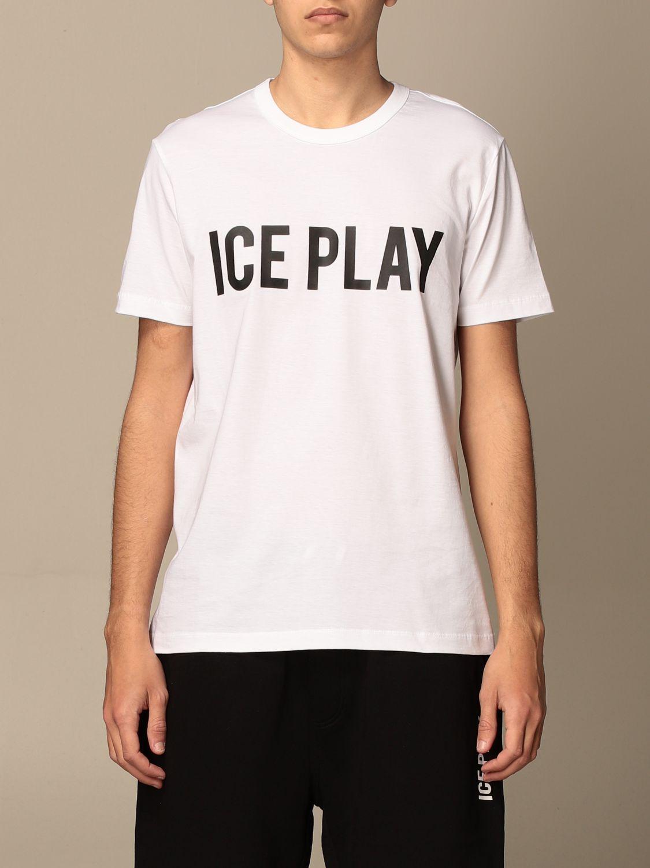 Футболка Ice Play: Футболка Мужское Ice Play белый 1