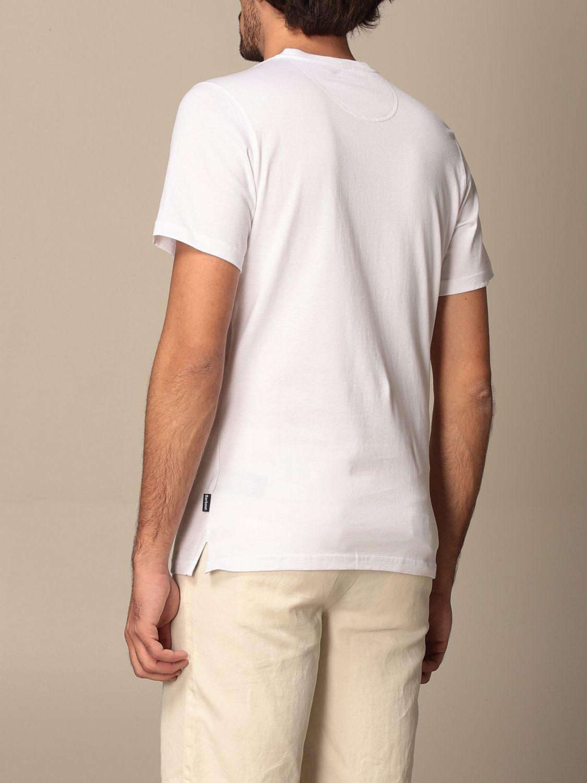 T-shirt Barbour: T-shirt men Barbour white 2
