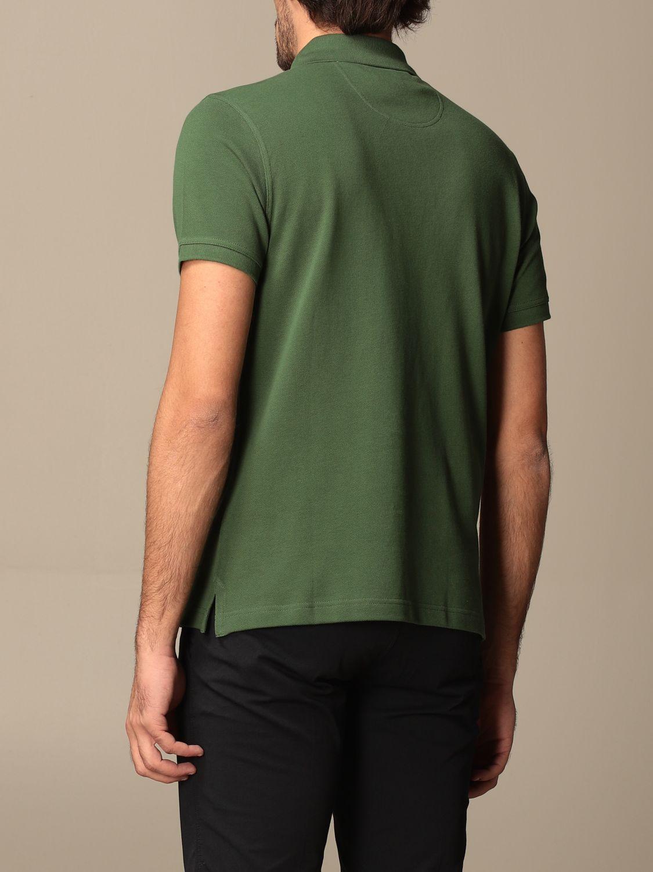 Polo shirt Barbour: Barbour polo shirt in pique cotton with logo green 2