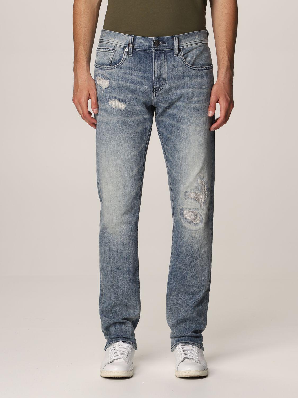 Jeans Armani Exchange: Jeans homme Armani Exchange délavé 1