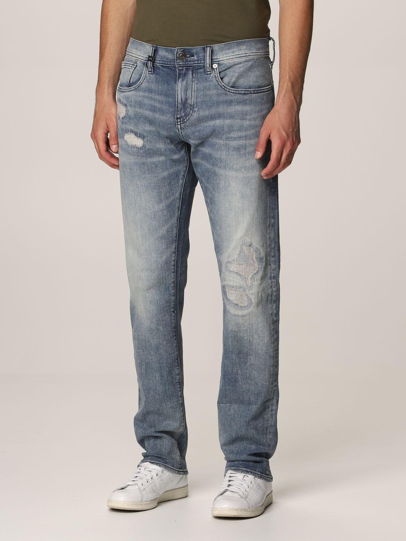 Jeans Armani Exchange: Jeans homme Armani Exchange délavé 3