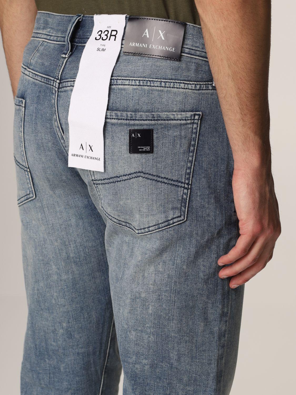 Jeans Armani Exchange: Jeans homme Armani Exchange délavé 4