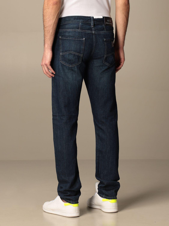 Jeans Armani Exchange: Jeans homme Armani Exchange bleu 2