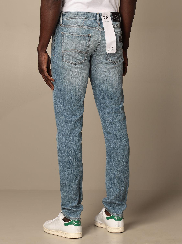 Jeans Armani Exchange: Jeans Armani Exchange in denim washed sstw 2